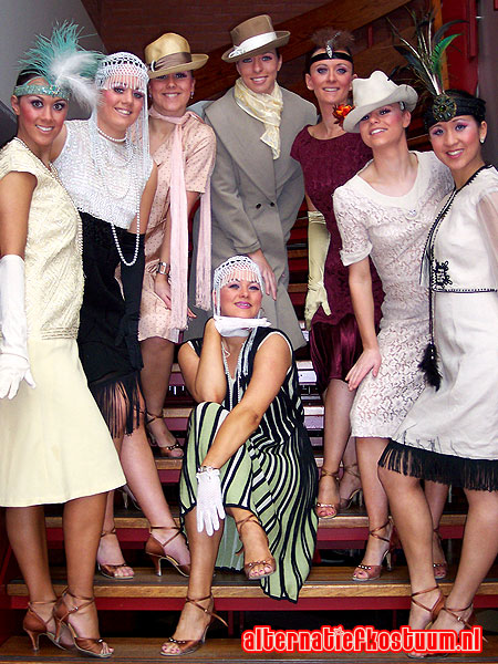 twenties party fashion 20's 20s themafeest 36