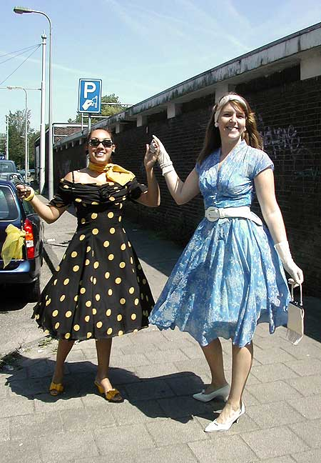 fifties party fashion 50's 50s themafeest 20