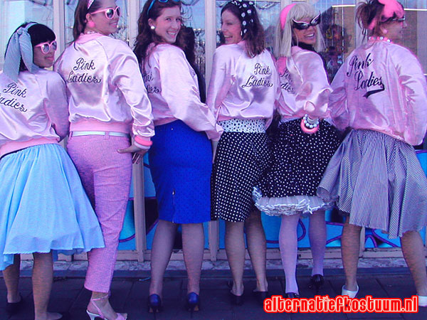 fifties party fashion 50's 50s themafeest 33