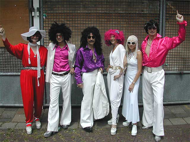 seventies party fashion 70's 70s themafeest 39