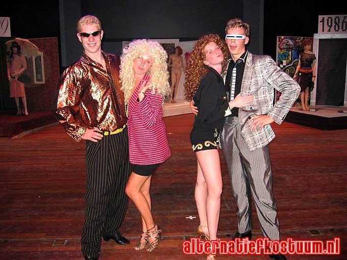 Typisch Jaren 80 : Alternatief kostuum amsterdam makeover factory feestkleding