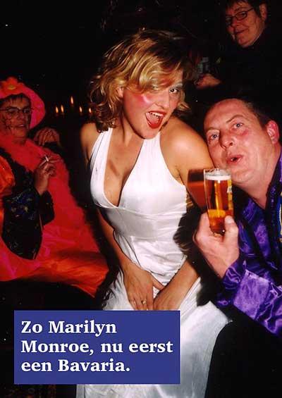 Pauline Berkhout als Marilyn Monroe