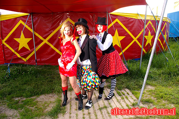 Circus, clowns, circusdirecteur, Pierrot, August 8