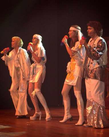Alternatief Kostuum Amsterdam Feestkleding Popstar 40